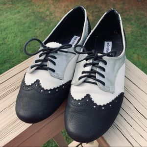 Vintage Oxford-style shoes